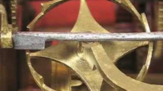 Crown Wheel (verge) Escapement Of Austrian Clock Movement