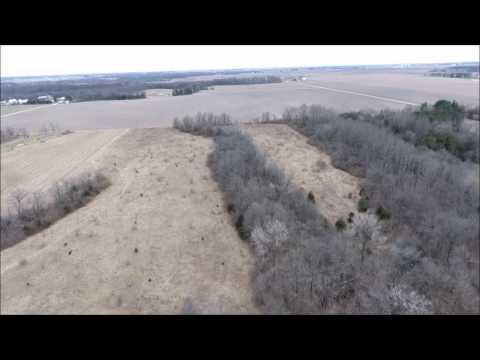 Hanks Justus & Sopp Land Trust Aerial Tour - Hancock County, IL