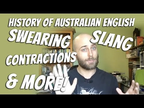 History of Australia English, Slang, Swearing, Contractions & More | Facebook Live | Aussie English