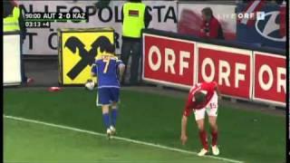 EM 2012 Quali - Österreich - Kasachstan - Die Schlussminuten [Beide Tore]
