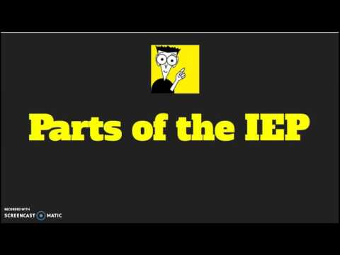 IEPs for Dummies