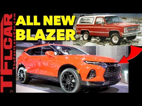 Breaking News: 2019 Chevy Blazer - It's Not a Truck & Everything Else You Need To Know!