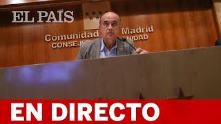 DIRECTO #COVID | MADRID informa de la evolución de la pandemia