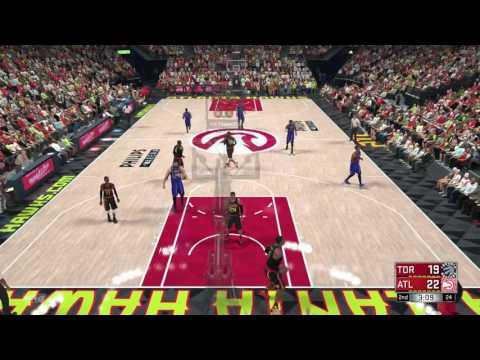 NBA 2K17 PLAY NOW ONLINE/ ATLANTA HAWKS TAKES ON THE TORONTO  RAPTORS