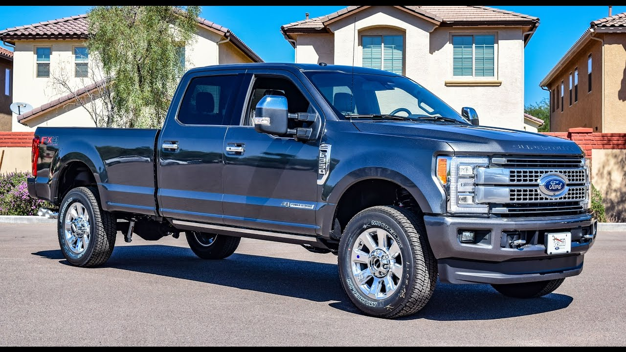 2017 ford f 350 platinum walkaround youtube. Black Bedroom Furniture Sets. Home Design Ideas