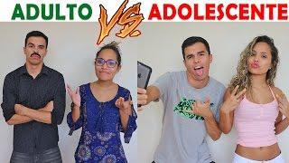 ADULTO VS ADOLESCENTE - KIDS FUN