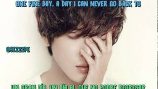 Jung Yong Hwa - One Fine Day [sub-eng-esp]