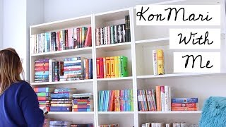 Clean With Me | Reorganizing/Decluttering My Room and Bookshelves