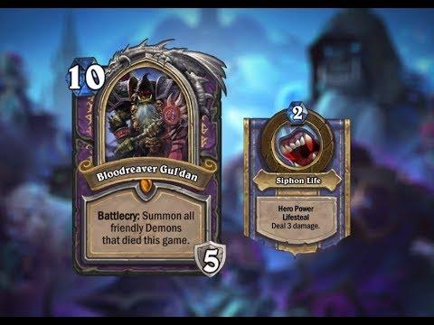 kotft lich king gul dan control warlock warlock is the new meta playing j4ckiechan s deck