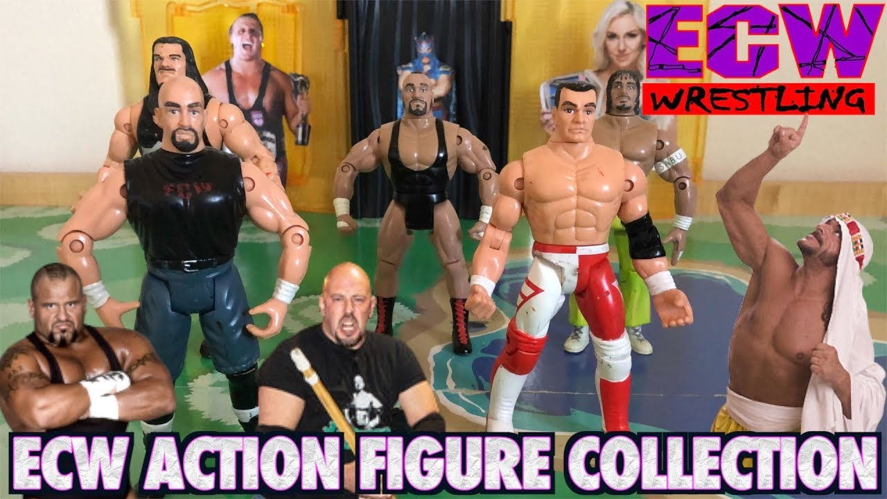 Ecw Action Figure Collection Extreme Championship Wrestling Toys