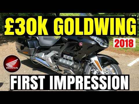HONDA GOLDWING | 2018 | First impression | REVIEW