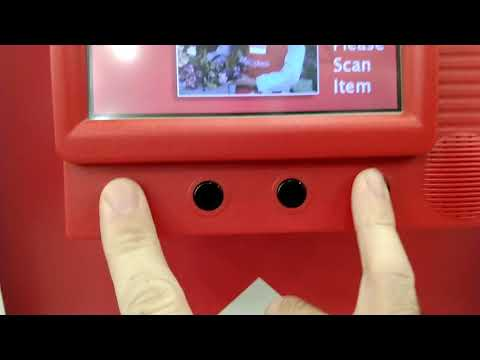 Craft Store Price Check Kiosk Bar Code Scanner