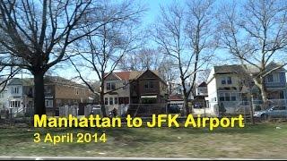 Manhattan to JFK International Airport