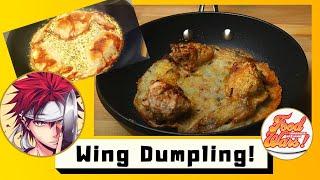 FOOD WARS RECIPE #3  Chicken Wing Gyoza by Yukihira Soma  Third Plate Episode 8