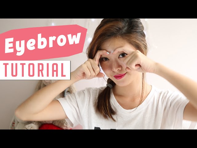 How To Draw Your Eyebrows Tutorial - PrettySmart: EP 5