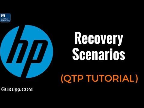 Recovery Scenarios - QTP TutoriaL #28
