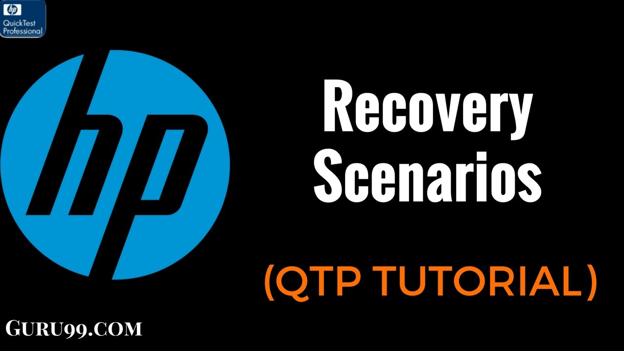 Using virtual objects and recovery scenarios in qtp tests.