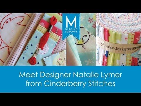 Meet Cinderberry Stitches Designer Natalie Lymer @ Australian Quilt Market 2013
