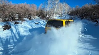 I Drove The Banana Too Fast In The Snow!