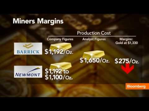Gold Price Drop Taking Toll on Mining Companies