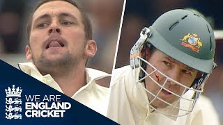 Steve Harmison's Brutal Opening Spell To Ricky Ponting | 1st Morning Of 2005 Ashes - Live Coverage