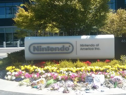 I SAW NINTENDO OF AMERICA'S HEADQUARTERS in Redmond, Washington!!
