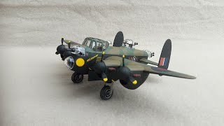 MENG LANCASTER BOMBER - A Build In Pictures (Bomber Command Buddy Build Entry)