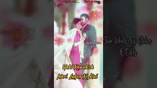 Teri Meri Saansein Full Screen Whatsapp Status Video