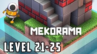 Mekorama Level 21, 22, 23, 24, 25 Walkthrough Gameplay [HD]