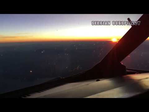 SUNRISE- Airline Pilot Cockpit View -Sun / Moon- AMAZING 🌛 compilation