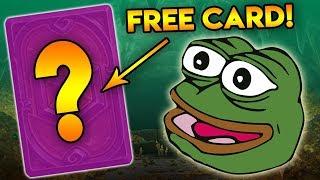 Get a FREE HearthStone Card!