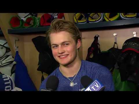 Maple Leafs Practice: William Nylander - March 10, 2017