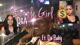 COME TO WORK WITH ME | BOTTLE GIRL EDITION - INFO & TIPS FT @DaBaby | PRNCSSEBONI