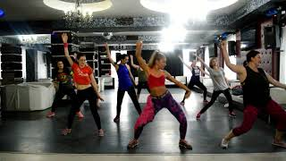 Sean Paul & Major Lazer - Tip Pon It  | Zumba® Fitness Choreo |