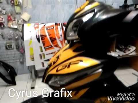 M Reflective Decals YouTube - Mio decalscyrus grafix decals youtube
