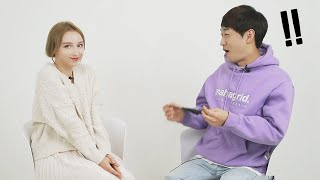 Korean Guys Meet Russian Girl For the First Time