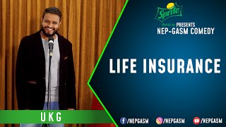 Life Insurance | Nepali Stand-Up Comedy |  | Nep-Gasm Comedy