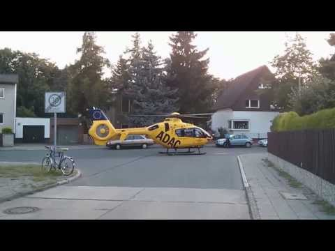 19.7.2014 ADAC Hubschrauber Christoph 31 in Berlin-Wittenau