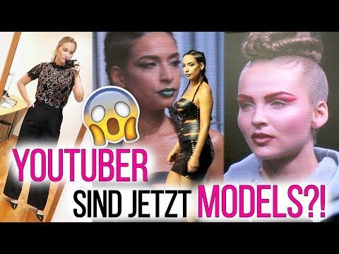 Youtuber sind jetzt MODELS! 1 Tag Fashion Week mit mir! Kathi2go