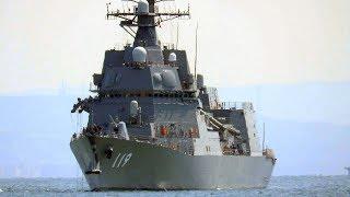 護衛艦 あさひ 横須賀へ初入港 2018年4月10日