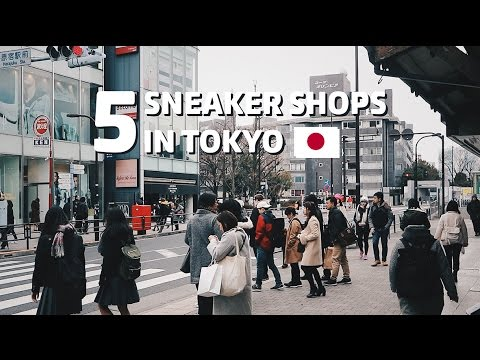 5 Sneaker Shops in Tokyo Bahasa Indonesia (English Subs)