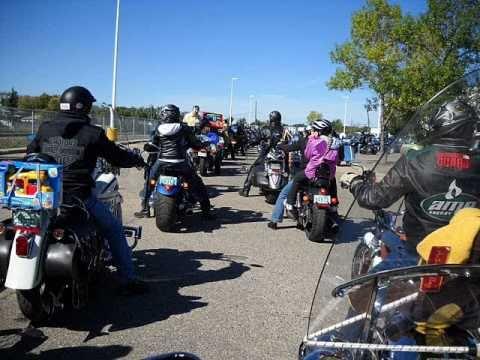 Toy Run - Regina, Saskatchewan - 2010