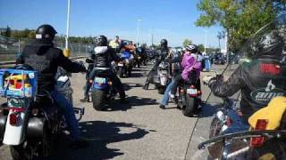 Toy Run - Regina, Saskatchewan - 2010