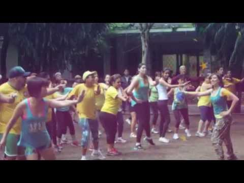 video zumba Fit Camp parque 15 11 2014
