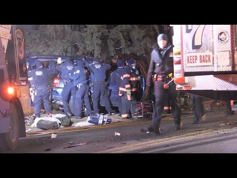 Fatal Car vs Firetruck Crash