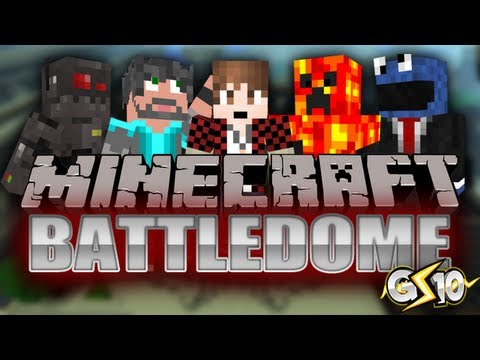 Minecraft: Battle-Dome Mini-Game w/ Graser & Friends! (Game 1)