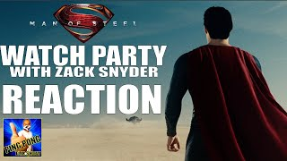 Man Of Steel Watch Party With Zack Snyder Reaction