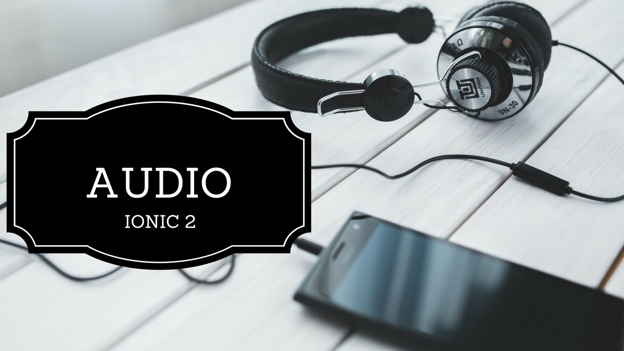Ionic 2 – Music app | T-Pub :)