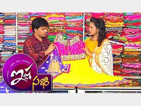 Crop Tops With Lehenga Style & Neted Anarkali Dresses || Ista Sakhi || Vanitha TV