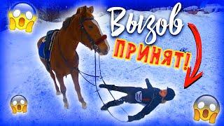 ВЫЗОВ ПРИНЯТ 2 Конная версия / Зимний Челлендж